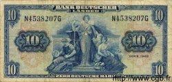 10 Mark ALLEMAGNE  1949 P.016a B