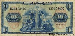 10 Mark ALLEMAGNE  1949 P.016a TB