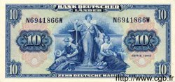 10 Mark ALLEMAGNE  1949 P.016a NEUF