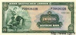 20 Mark ALLEMAGNE  1949 P.017a SUP