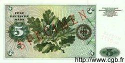5 Deutsche Mark ALLEMAGNE FÉDÉRALE  1960 P.18s NEUF
