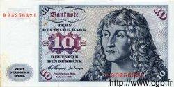 10 Deutsche Mark ALLEMAGNE FÉDÉRALE  1960 P.19 TTB+