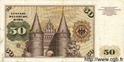 50 Deutsche Mark ALLEMAGNE FÉDÉRALE  1960 P.21 TTB