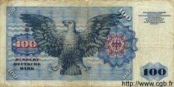 100 Mark ALLEMAGNE  1960 P.022 B+