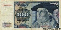 100 Mark ALLEMAGNE  1960 P.022 pr.TB