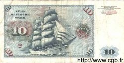 10 Mark ALLEMAGNE  1960 P.031a pr.TB