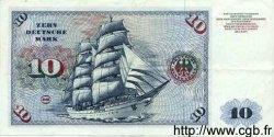 10 Deutsche Mark ALLEMAGNE FÉDÉRALE  1960 P.31a TTB à SUP