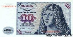 10 Deutsche Mark ALLEMAGNE FÉDÉRALE  1960 P.31a NEUF