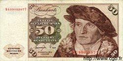 50 Deutsche Mark ALLEMAGNE FÉDÉRALE  1977 P.33b TB+