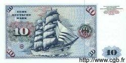 10 Deutsche Mark ALLEMAGNE FÉDÉRALE  1980 P.31c NEUF