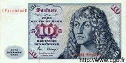 10 Deutsche Mark ALLEMAGNE FÉDÉRALE  1980 P.31d SUP+