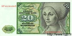 20 Mark ALLEMAGNE  1980 P.032d NEUF