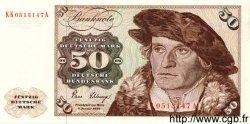 50 Deutsche Mark ALLEMAGNE FÉDÉRALE  1980 P.33d NEUF