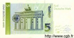 5 Mark ALLEMAGNE  1991 P.037 SUP+