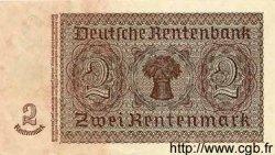 2 Deutsche Mark sur 2 Rentenmark ALLEMAGNE  1948 P.002 SPL