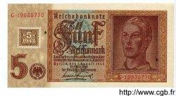 5 Deutsche Mark sur 5 Reichsmark ALLEMAGNE  1948 P.003 SUP