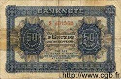 50 Deutsche Pfennige ALLEMAGNE  1948 P.008a B