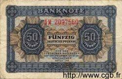 50 Deutsche Pfennige ALLEMAGNE  1948 P.008b TB
