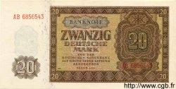 20 Deutsche Mark ALLEMAGNE  1948 P.013b SUP