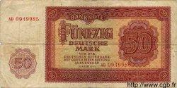 50 Deutsche Mark ALLEMAGNE  1955 P.020a TB