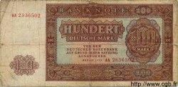 100 Deutsche Mark ALLEMAGNE  1955 P.021 B