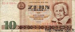 10 Mark ALLEMAGNE  1971 P.028a TB