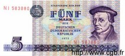 5 Mark ALLEMAGNE  1975 P.027a NEUF