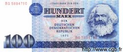 100 Mark ALLEMAGNE  1975 P.031a NEUF