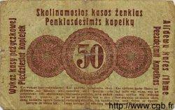 50 Kopeken ALLEMAGNE  1916 P.R121c AB