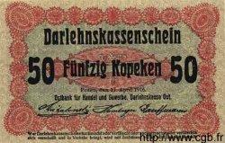 50 Kopeken ALLEMAGNE  1916 P.R121c NEUF