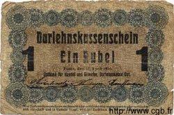 1 Rubel ALLEMAGNE  1916 P.R122c AB