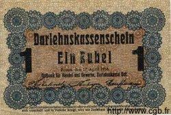 1 Rubel ALLEMAGNE Posen 1916 P.R122c TTB