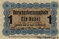 1 Rubel ALLEMAGNE  1916 P.R122c NEUF