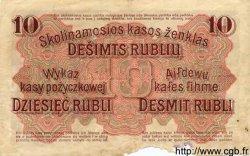10 Rubel ALLEMAGNE  1916 P.R124 B