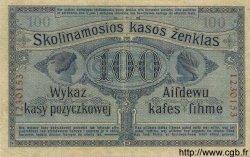 100 Rubel ALLEMAGNE Posen 1916 P.R126 TTB+