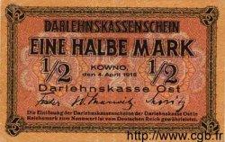 1/2 Mark ALLEMAGNE  1918 P.R127 TTB+