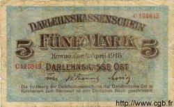 5 Mark ALLEMAGNE  1918 P.R130 B
