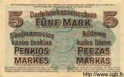 5 Mark ALLEMAGNE  1918 P.R130 TTB+