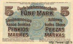 5 Mark ALLEMAGNE  1918 P.R130