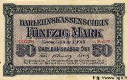 50 Mark ALLEMAGNE  1918 P.R132 TTB+