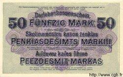 50 Mark ALLEMAGNE Kowno 1918 P.R132 pr.NEUF