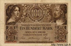 100 Mark ALLEMAGNE  1918 P.R133 TB+