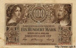 100 Mark ALLEMAGNE Kowno 1918 P.R133 TTB