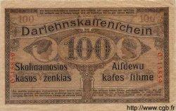 100 Mark ALLEMAGNE  1918 P.R133 TTB+