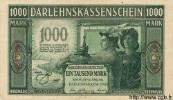 1000 Mark ALLEMAGNE  1918 P.R134b TTB+