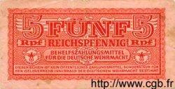 5 Reichspfennig ALLEMAGNE  1942 P.M33 TB à TTB