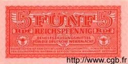 5 Reichspfennig ALLEMAGNE  1942 P.M33 NEUF