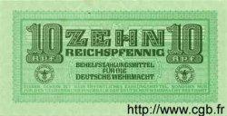 10 Reichspfennig ALLEMAGNE  1942 P.M34 pr.NEUF