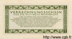 1 Reichsmark ALLEMAGNE  1944 P.M38 SPL
