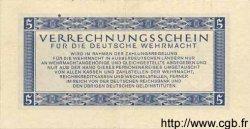 5 Reichsmark ALLEMAGNE  1944 P.M39 TTB+